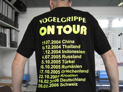 Vogelgrippe on Tour