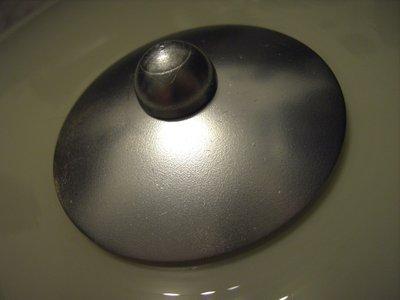 DDR Lampe - Scheibe