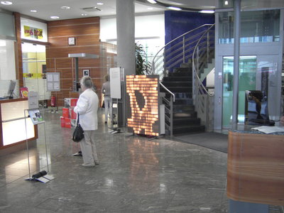 ArcadeMaxi in der Sparkasse