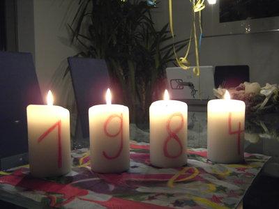 1984 Kerzen