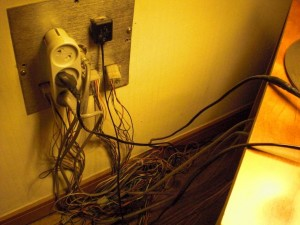 Koreanische Stromversorgung