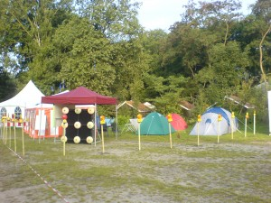 Blinkenarea Village on Day -1