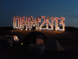 OHM 2013 burning ohm