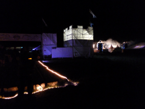 OHM 2013 deco at night