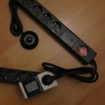 Stromspar-Steckdosenleiste - ausgeschaltet