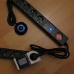 Stromspar-Steckdosenleiste - eingeschaltet